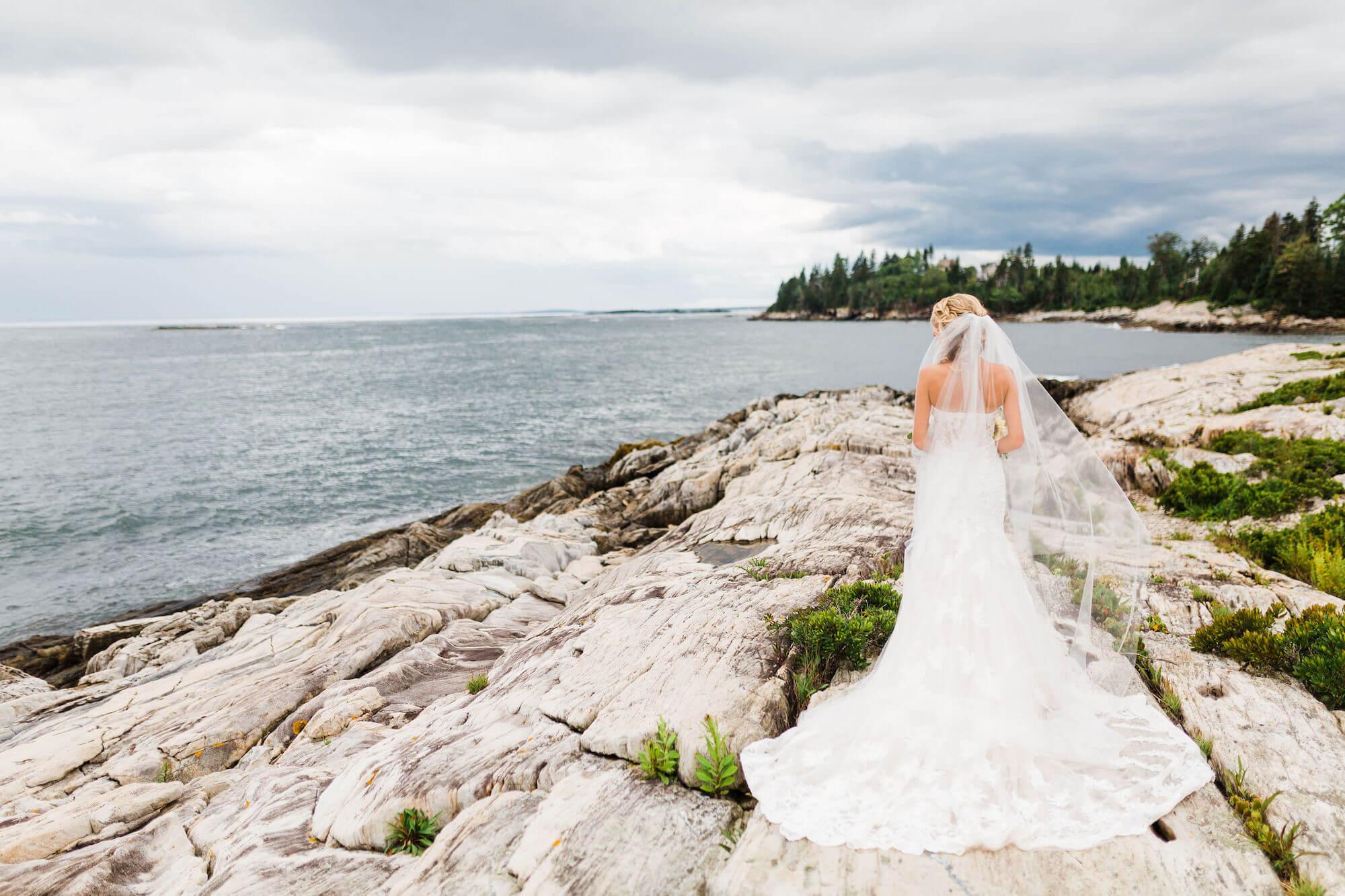 Casco Bay Island Wedding -
