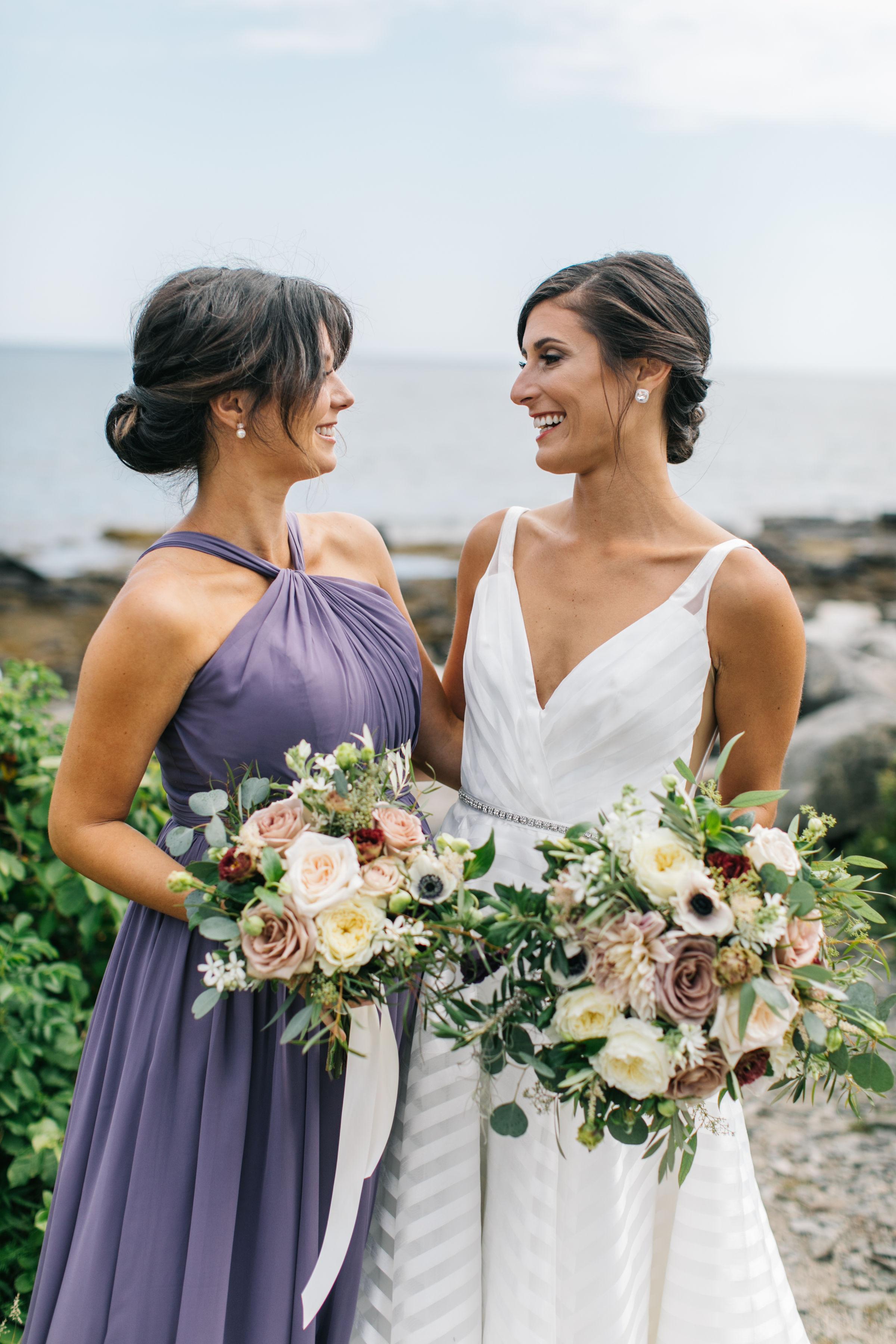 TEIA Peaks Island Maine Wedding