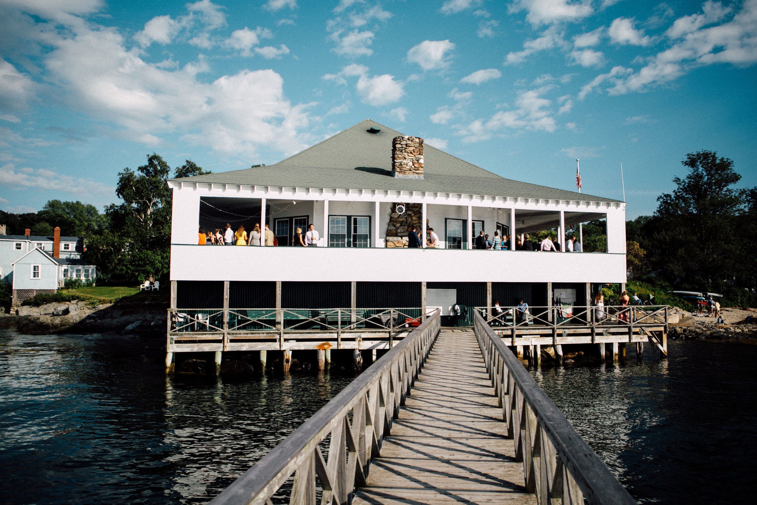 PEAKS ISLAND WEDDING AT TEIA -