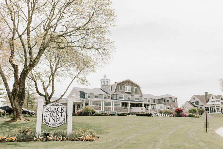 wATERFRONT WEDDING AT BLACK POINT INN -