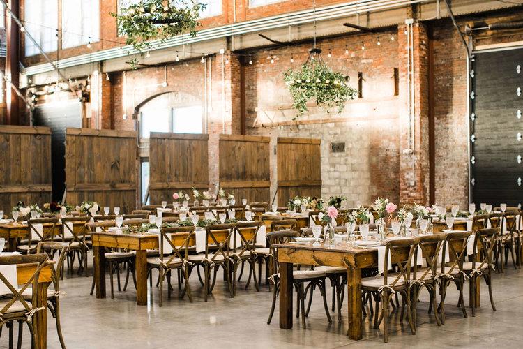warehouse wedding at brick south -