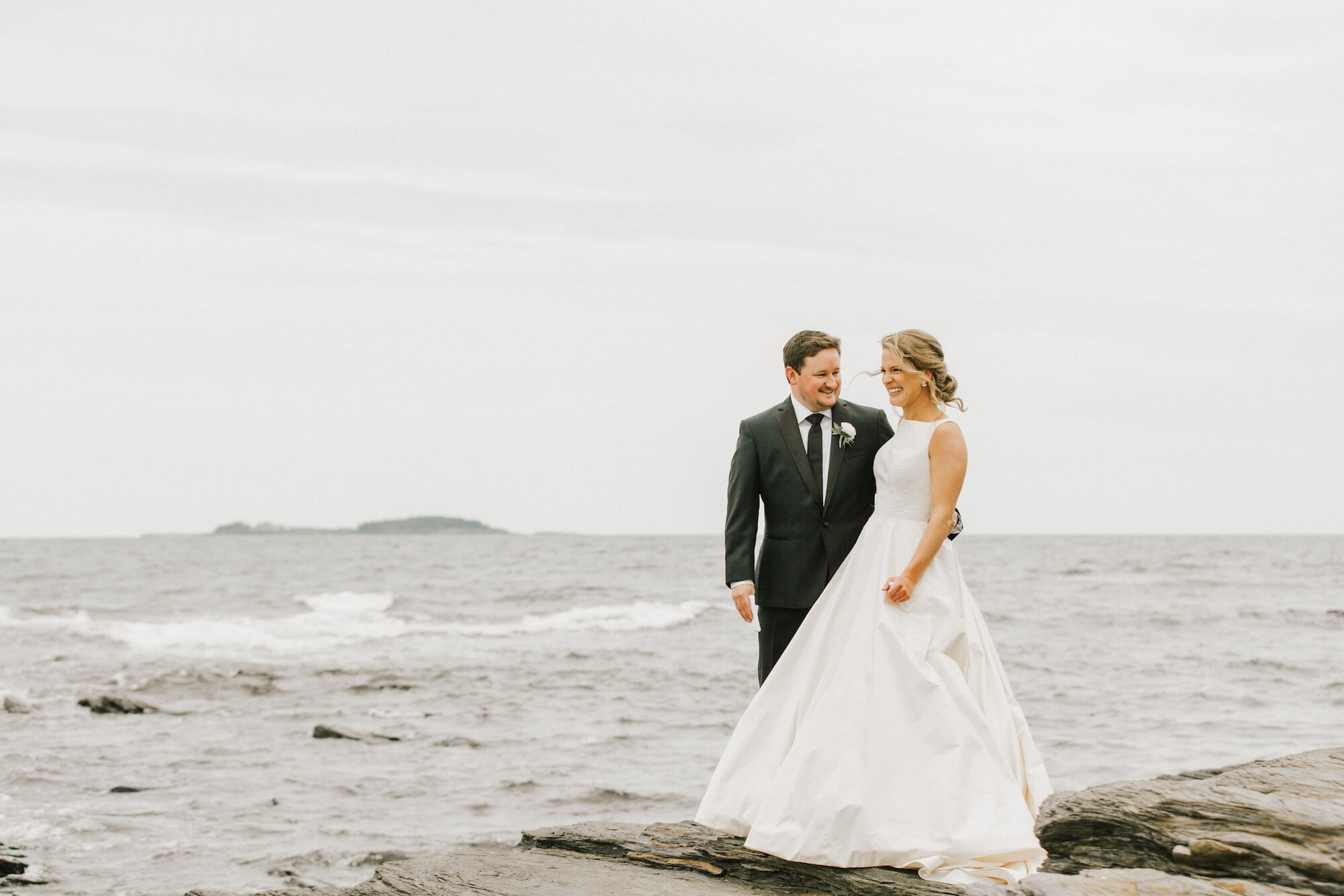 Jane and Michael's Waterfront Wedding -