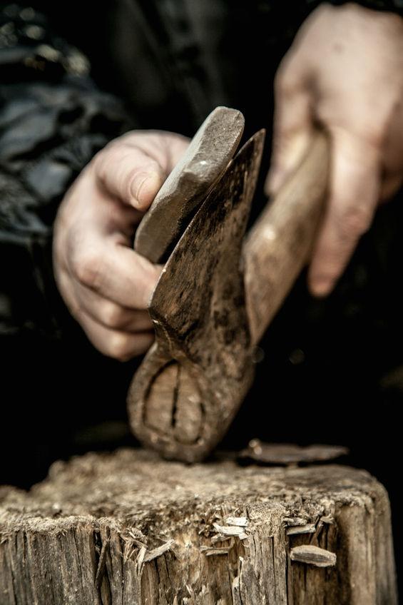 Iron sharpens iron -