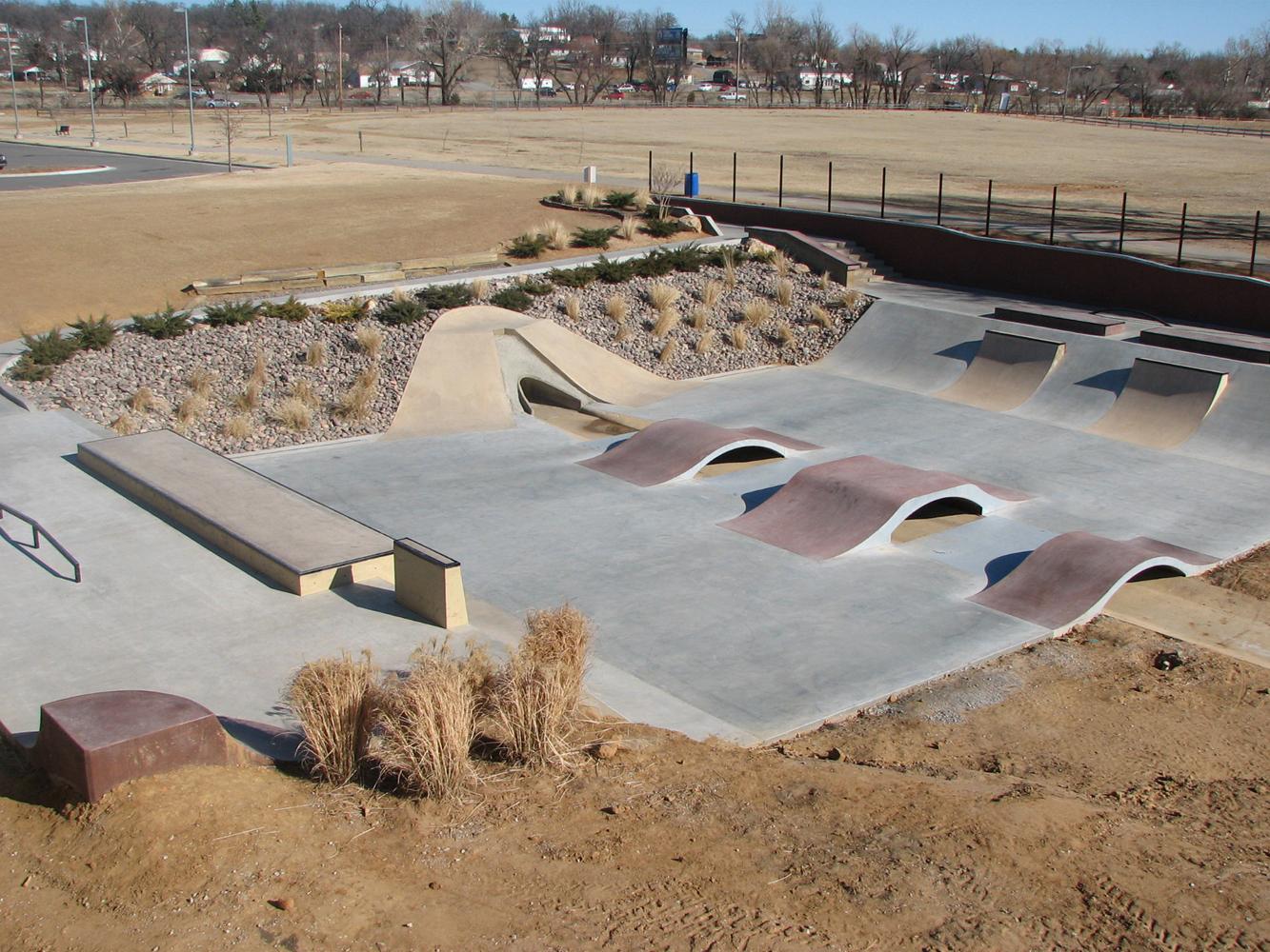 Sand Springs Skatepark - OKLAHOMA
