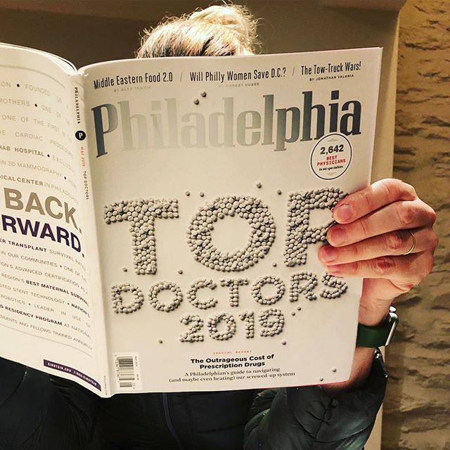 Nice to be in #phillymag as a #topdoc #marthabardsleymd