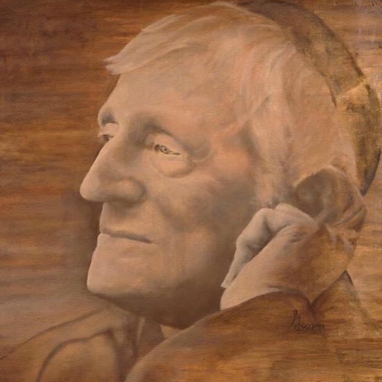 Did you know Blessed John Henry Newman will be canonized on October 13th? His dedication to education and formation have been inspirational to us in our mission and work. Hop over to our shop for a print of this Holy man!  The original is an oil painting on wood done in 2010 for the Newman Center at the University of Minnesota - Duluth.