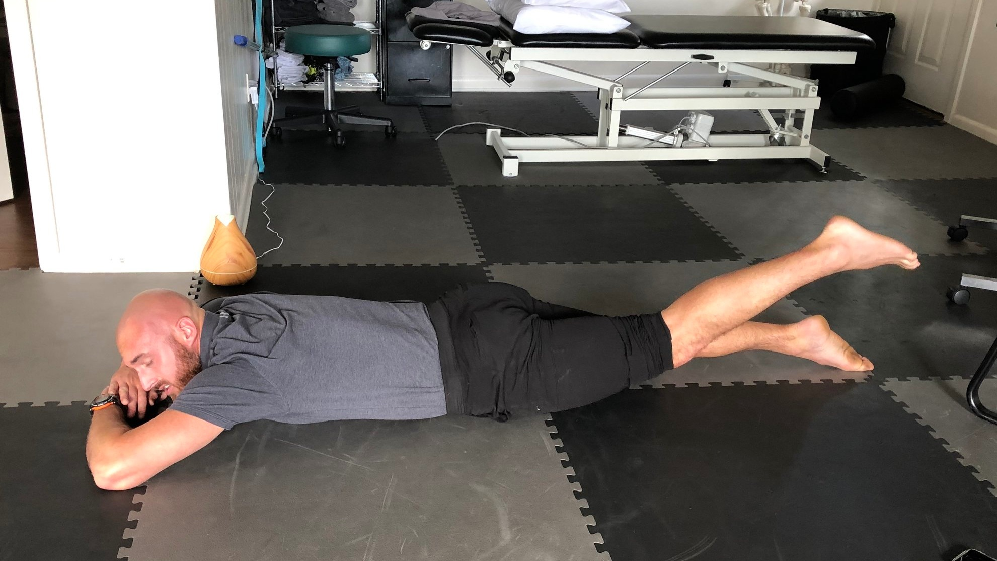 Prone Hip Extension Test