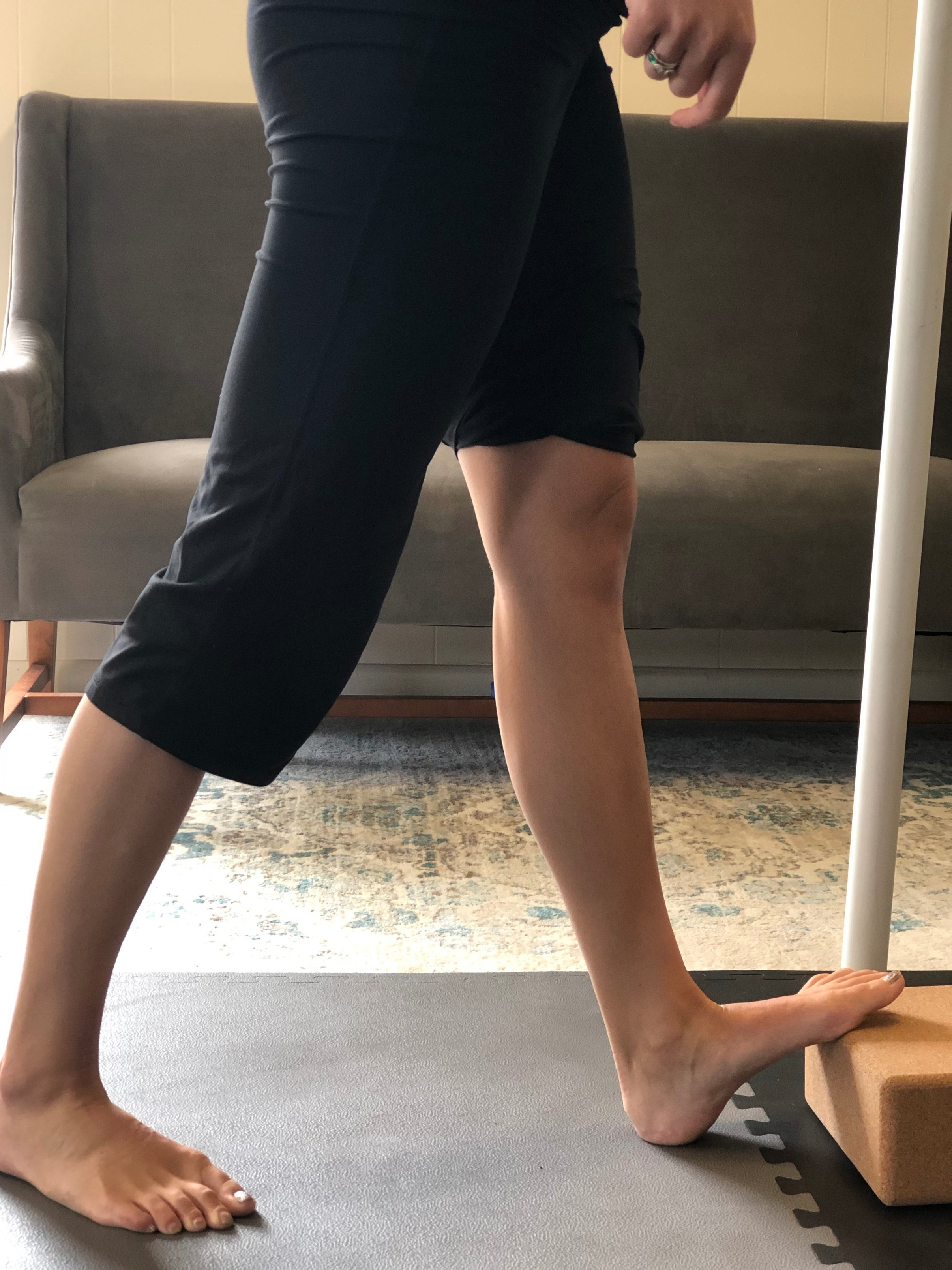 Calf Stretch Off Block