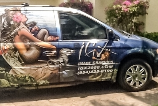 Take your Business on the road with you by getting a Custom Vehicle Wrap!