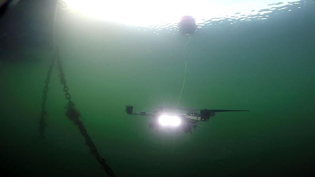 A shot of the SeaHawk in action in seawater!  #flying #submersible #drone #submarine