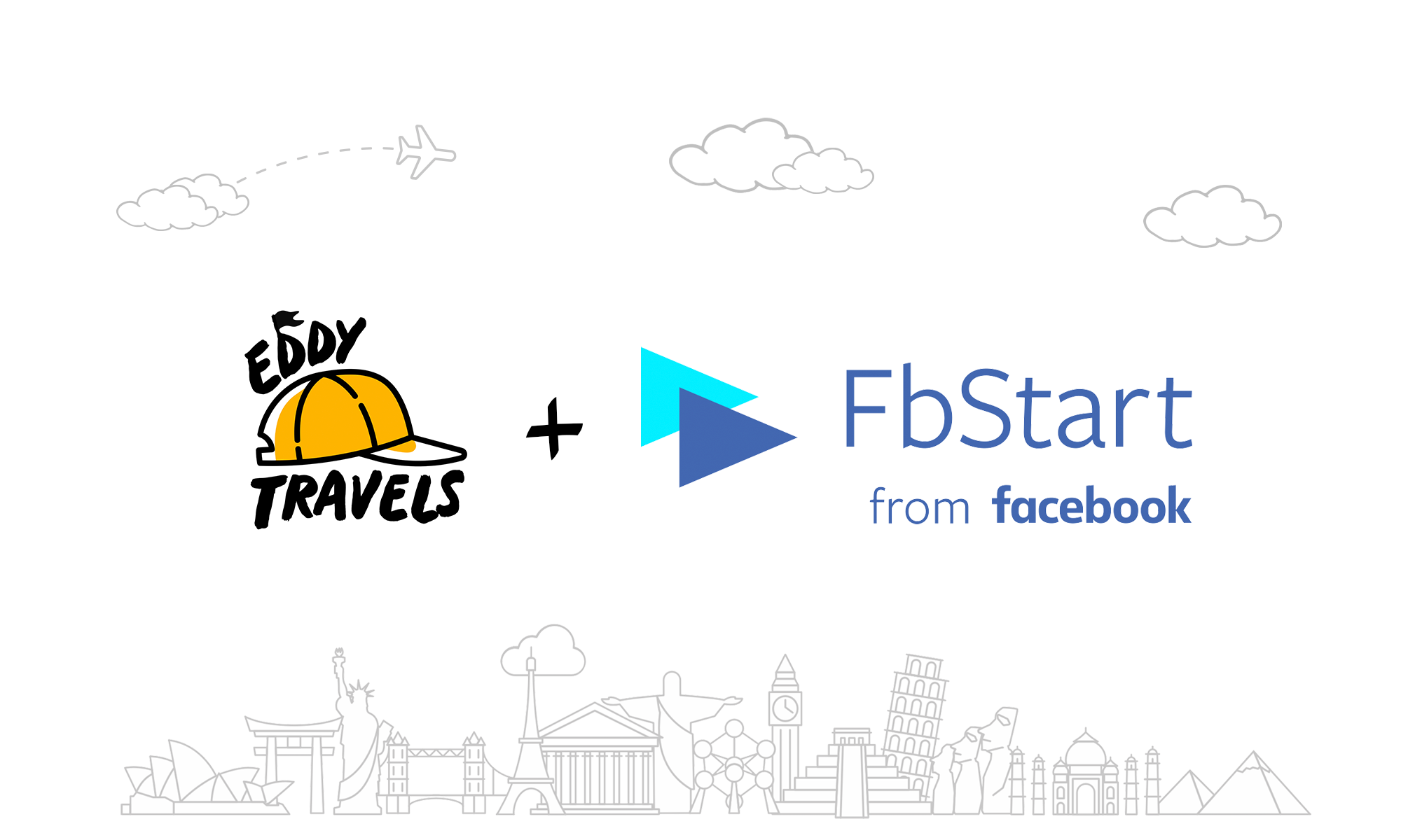 Eddy Travels is accepted to the FbStart startup program from Facebook.png