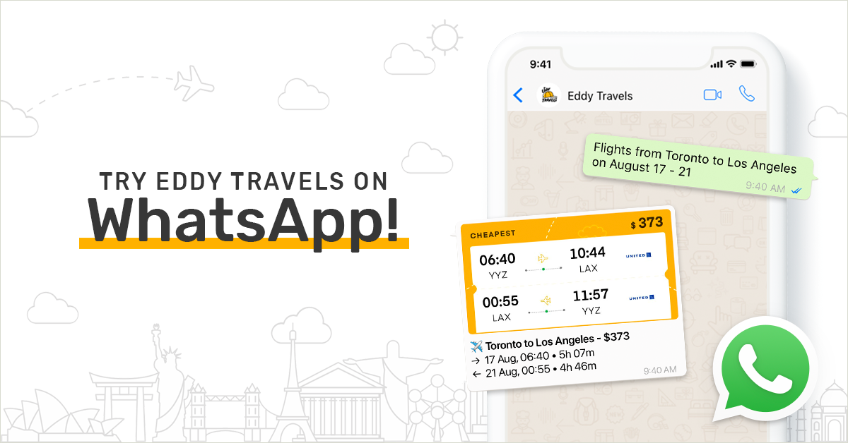 Eddy Travels launches AI-powered travel assistant on WhatsApp messaging application.png