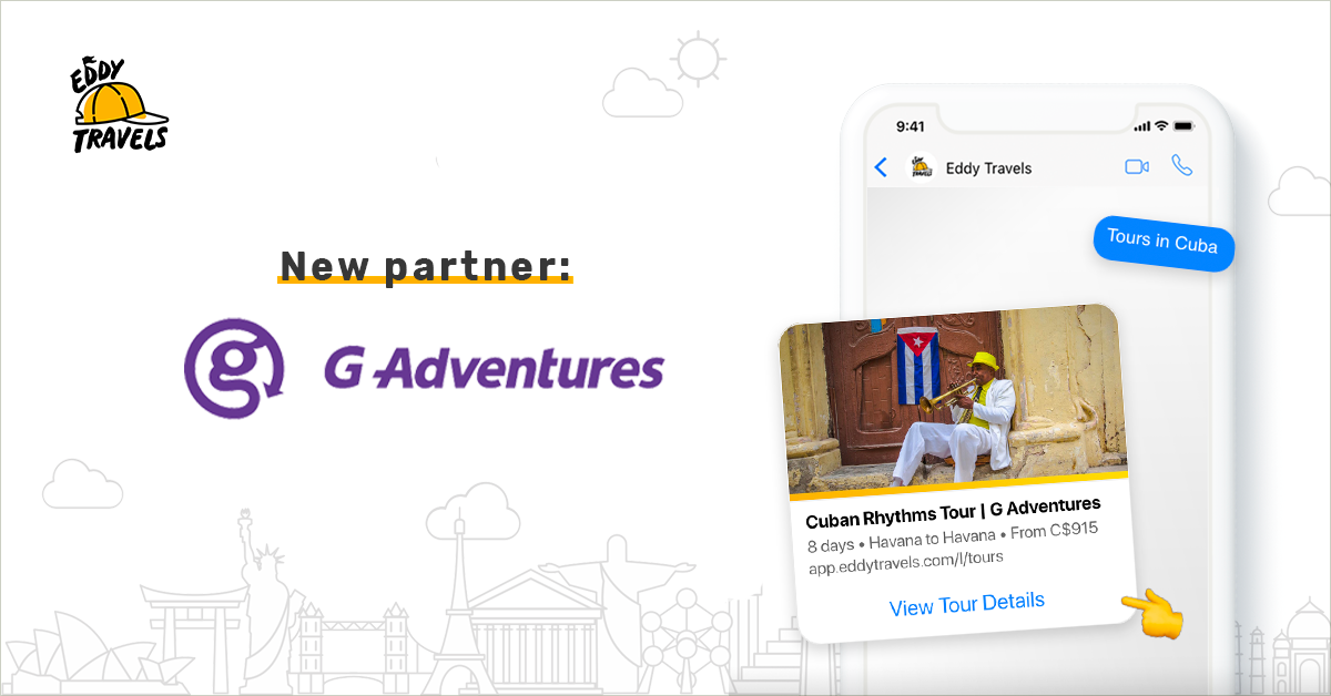 Eddy Travels AI assistant partners with G Adventures for tours in Latin America.png