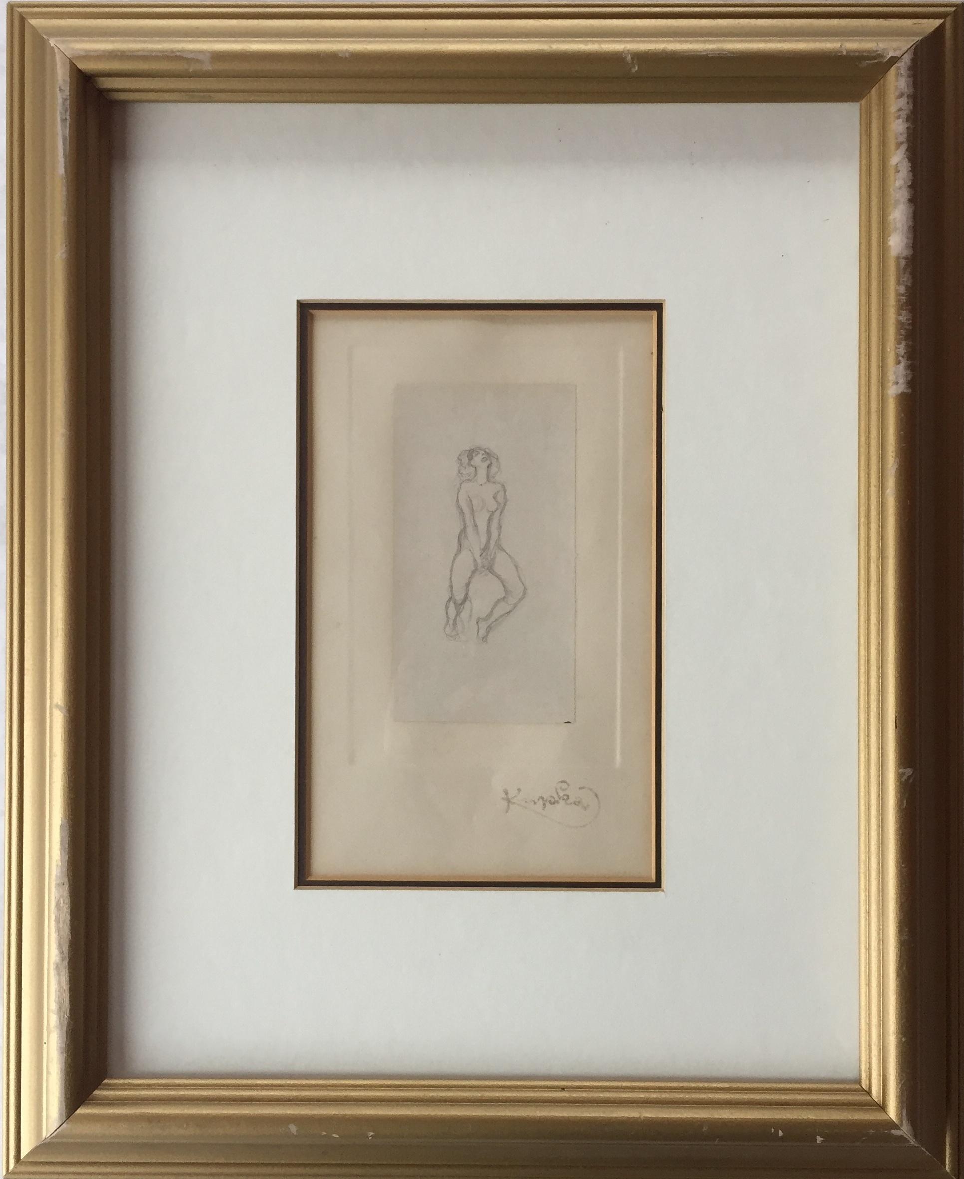 Frantisek Kupka(1871-1957) - Pencil on paper2.5