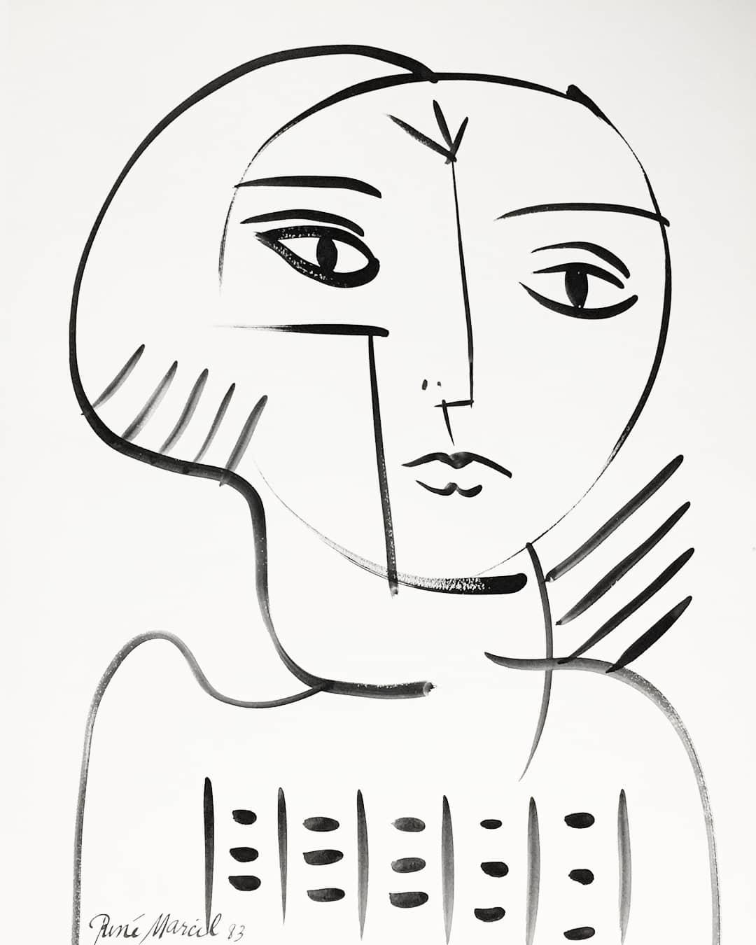 René Marcil (1917-1993) Untitled - Gouache on paper25