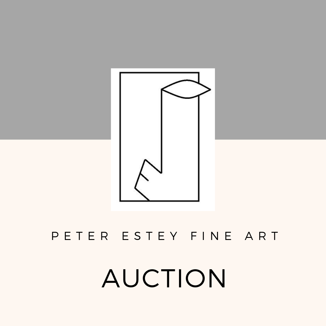 fall 2019 online art auction - Peter Estey Fine Art is now accepting select consignments for the upcoming fall auction. Click here for more information.
