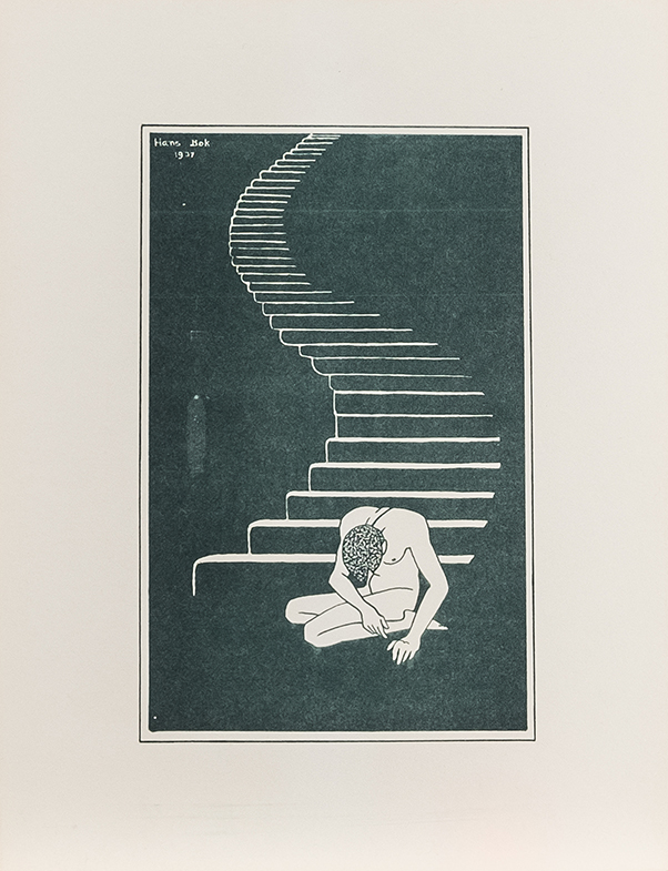 "Hannes Bok (American, 1914-1964) - Set of 15 offset litho prints1937 - 19399"" x 11"""