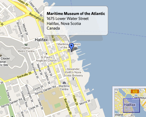 Maritime Museum of the Atlantic - 1675 Lower Water StreetHourly: $3.00