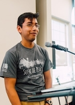 Jose Osvaldo Contreras - Jose is a sophomore at Oak Ridge High school. Jose enjoys hiking, being outside, and running. As well as hanging out with his friends. When Jose isn't outside he can be found listening various genres of music such as classic rock, rap, pop, and R&B, and playing board games, or watching shows such as documentaries, action and adventure, and sports.