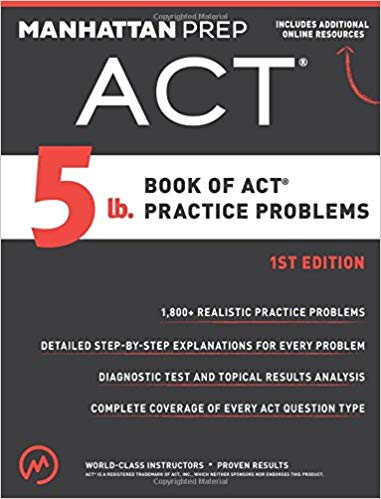5lb Book of ACT Practice Problems