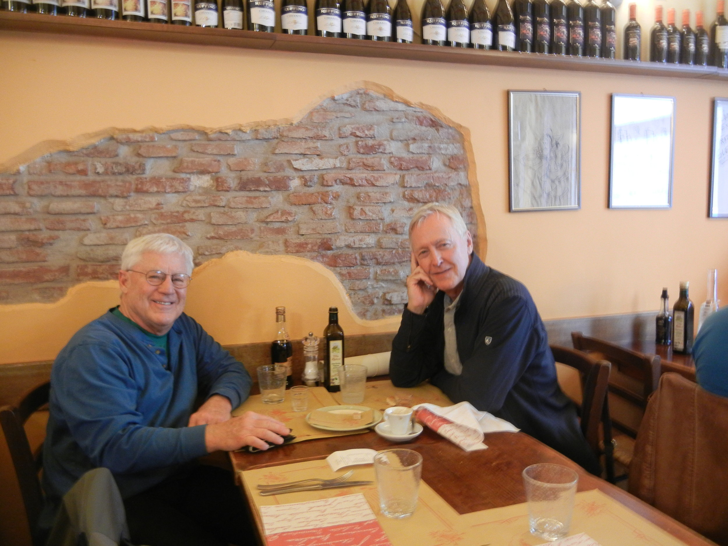 Rick Johnson with Scott Belville