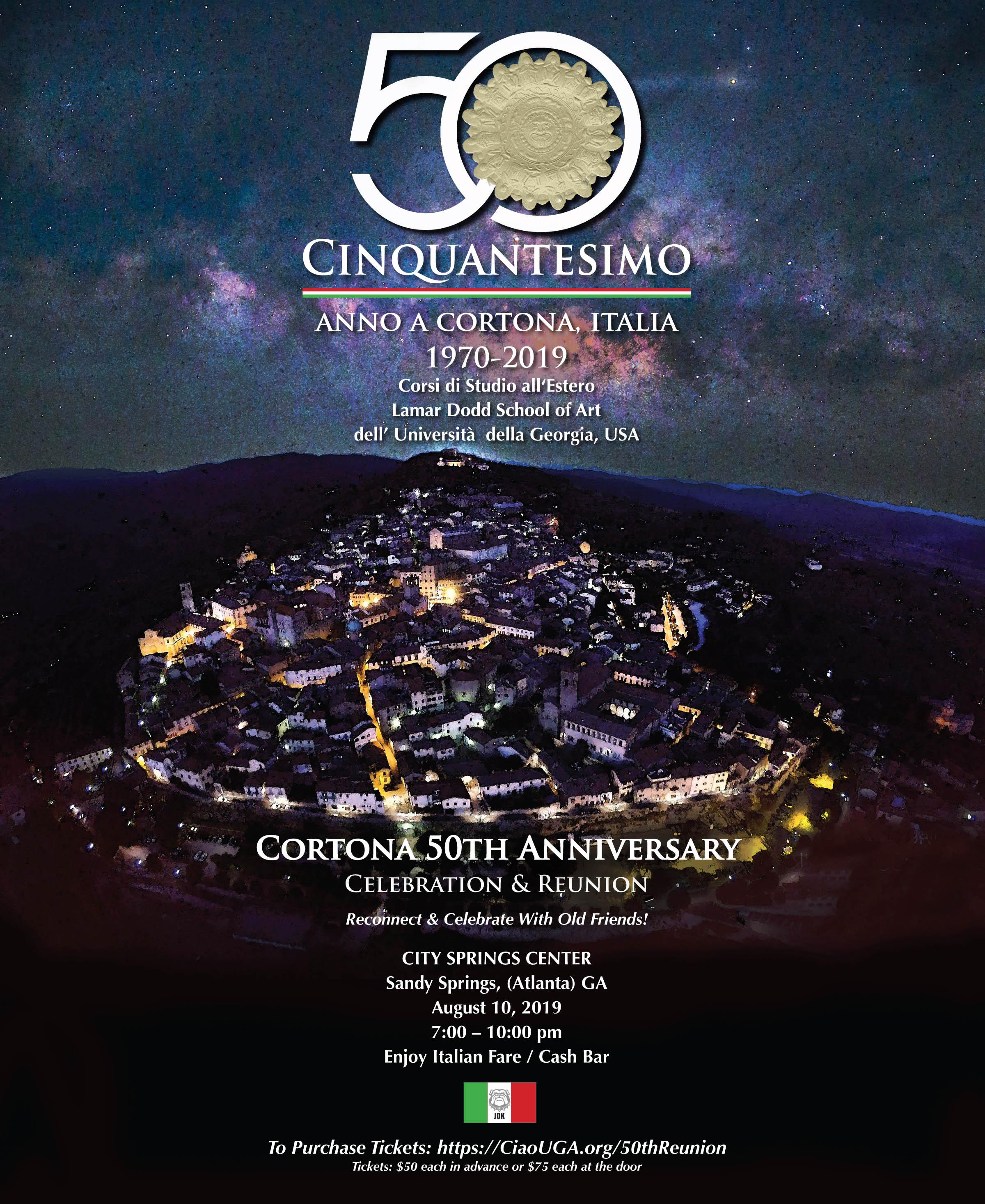 CIAO 50th celebration Atlanta