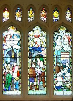 The Betley War Memorial Window -