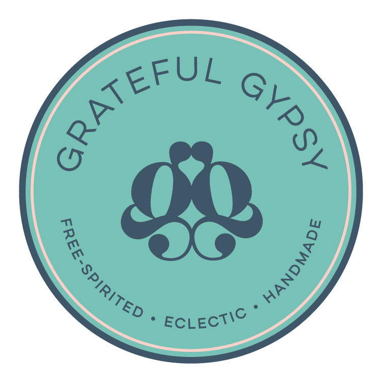 Grateful Gypsy Logo  |  Free-Spirited, Eclectic, Handmade  |  Bohemian Inspired Jewelry and Apparel