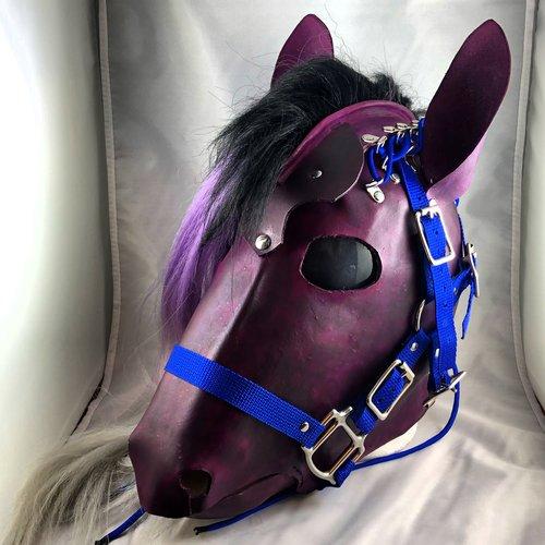 Purple hood FULL SET
