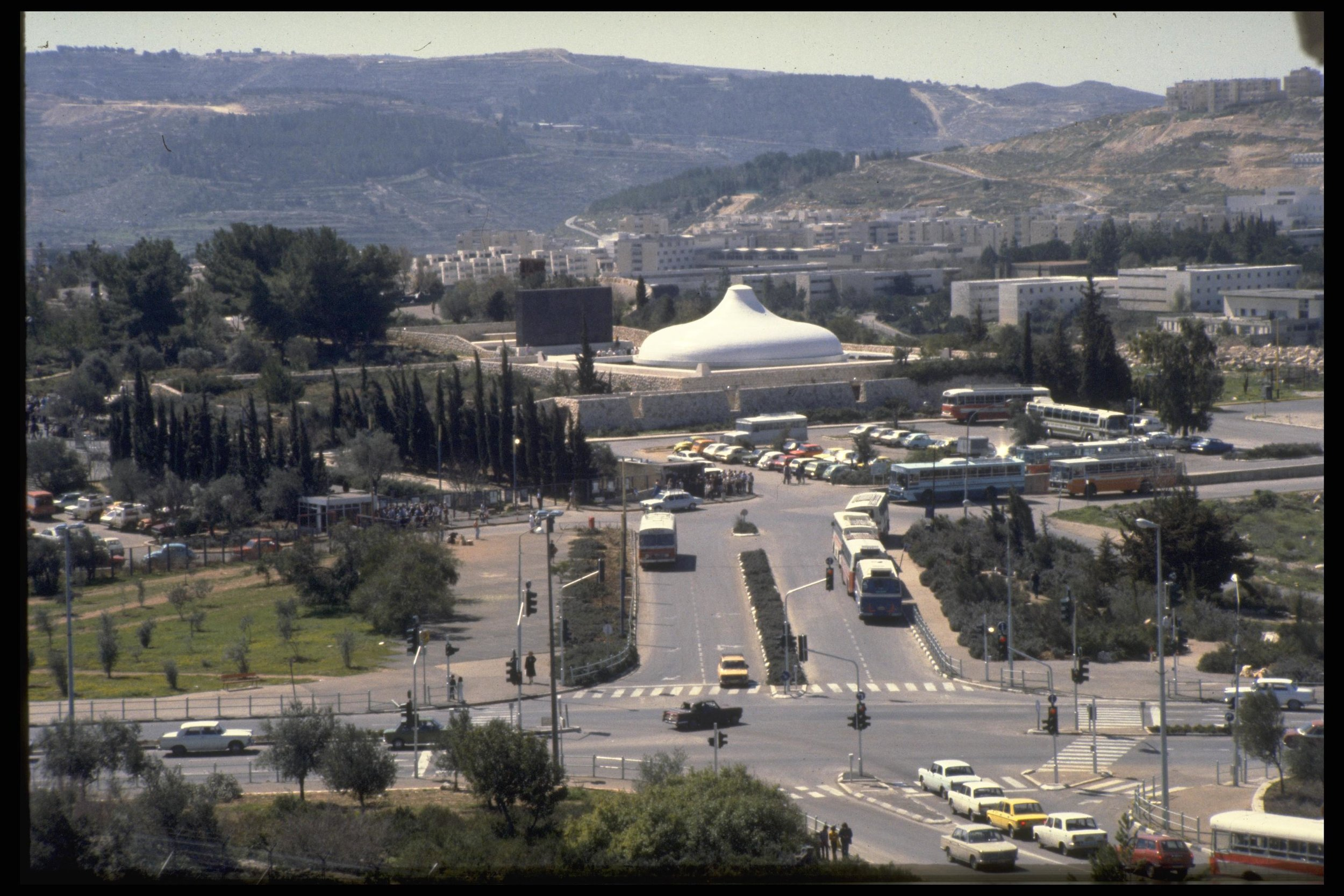 """Israel Museum houses the """"Shrine of the Book"""" with a Dead Sea Scrolls exhibit, as well as an excellent archaeological museum and model of ancient Jerusalem."""