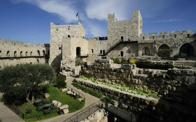 """The Tower of David Museum inside Jaffa Gate has a """"Jerusalem through the centuries"""" overview exhibit."""