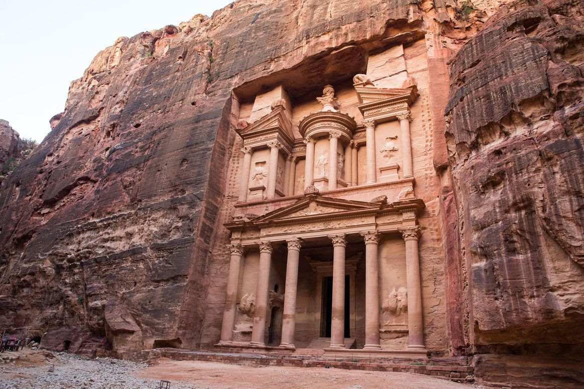 The Nabatean Treasury at Petra, Jordan