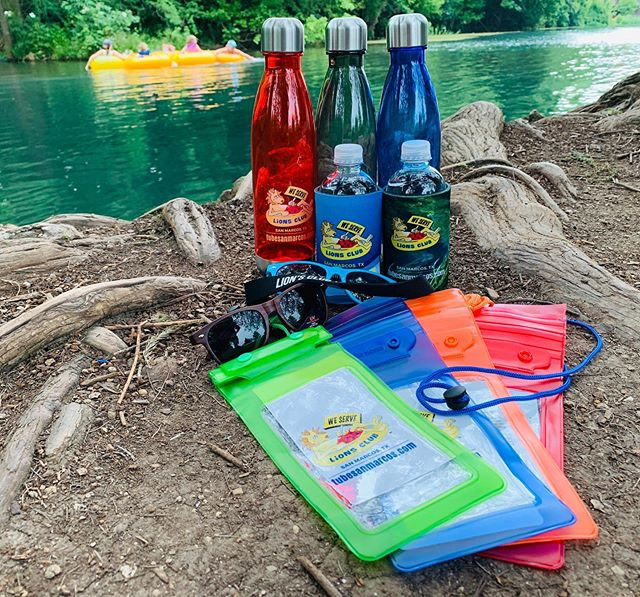 Happy Friday! Floating the river this weekend? Check out San Marcos Lions Club Tube Rental's new gear!  Come in to ColorMix today or contact us at 512–353–2412 if you need help promoting your business! Whether you need promotional products or banners & signs, we've got you covered!