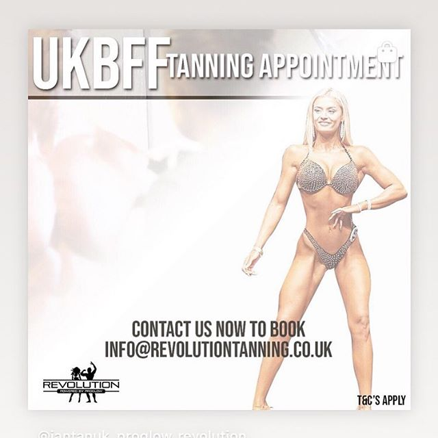 Book your ULTIMATE BEGINNERS TANNING appt today!!! www.revolutiontanning.co.uk #ukbff #jantanauk #winningtan #getitsorted