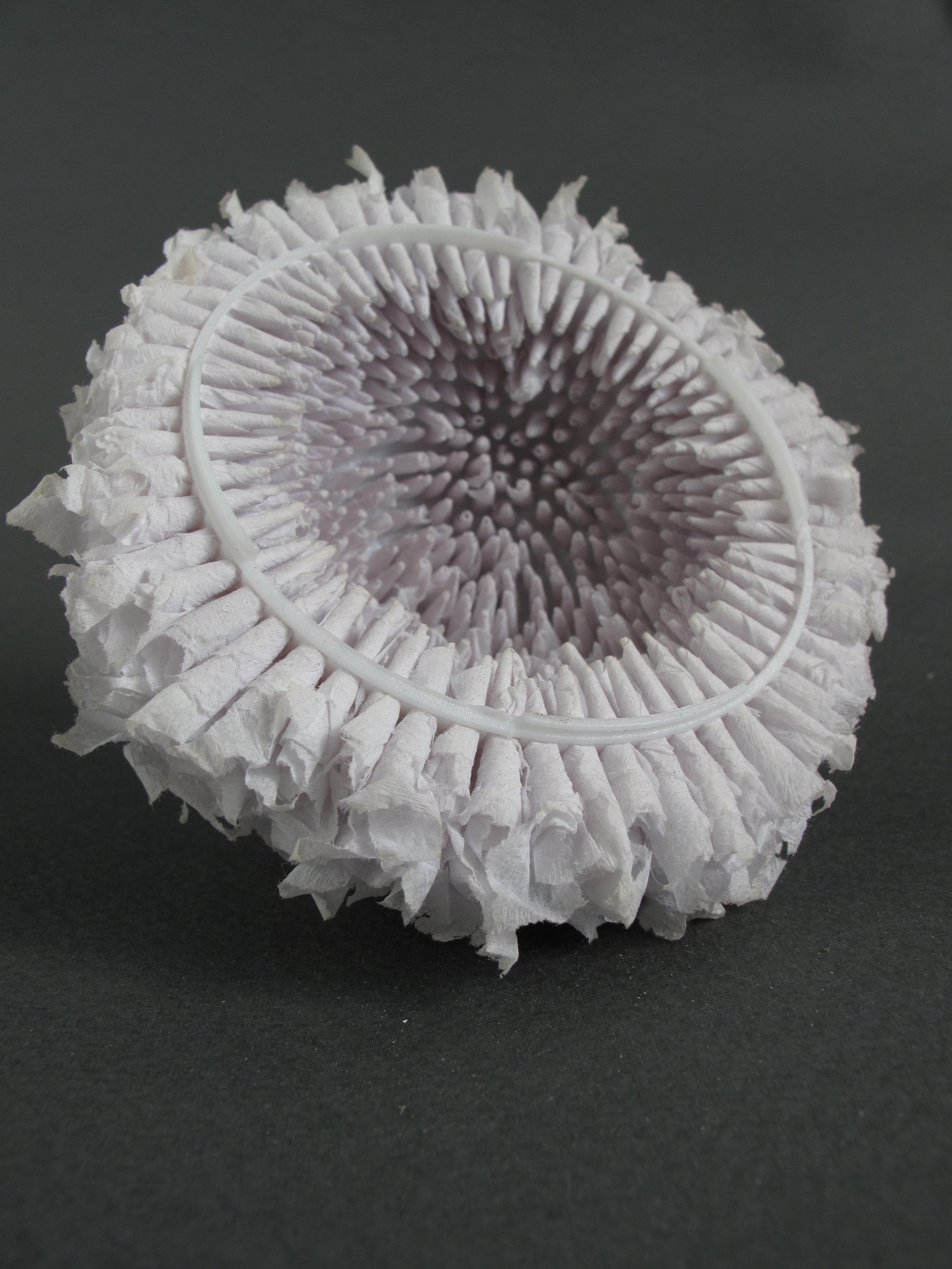 "Cradle     Tissue Paper, Needlepoint Dome - 7""x7 x6"""