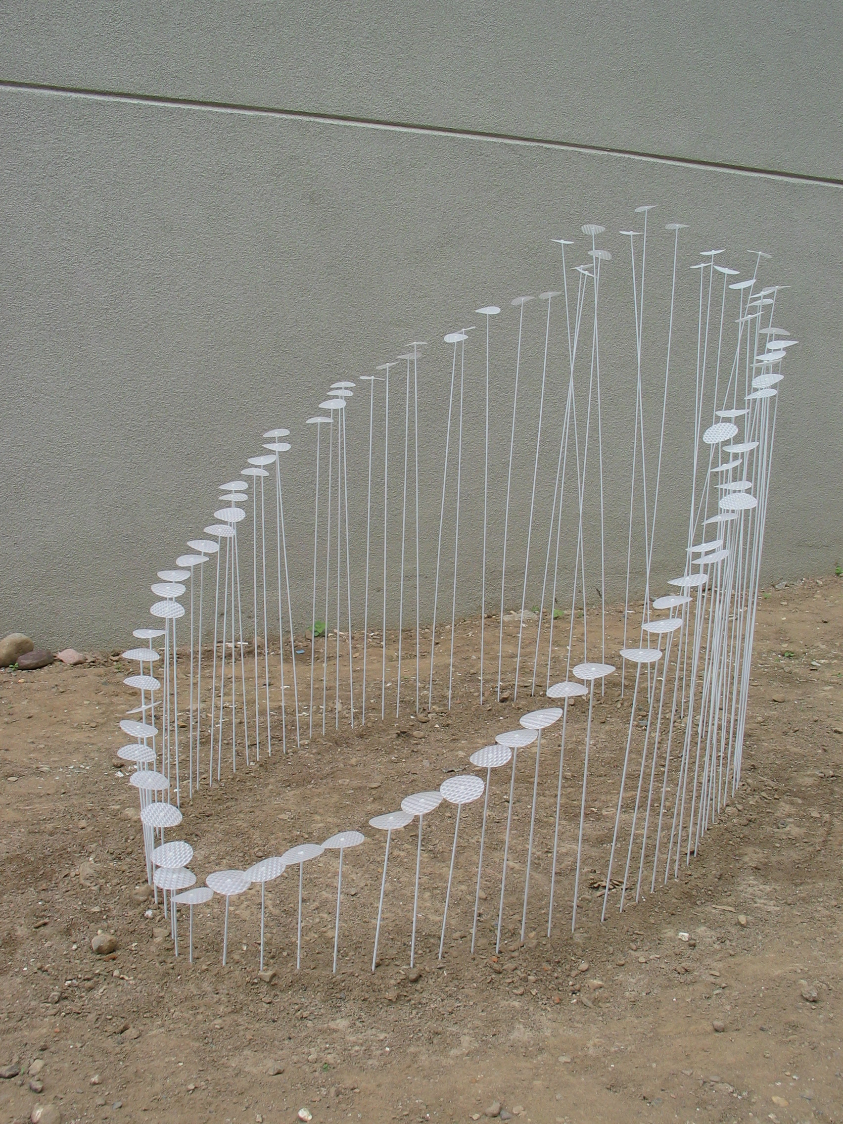 "Sprouting   Wood Dowels, 3D Plastic - 60"" x 37"" x 6""-48"""