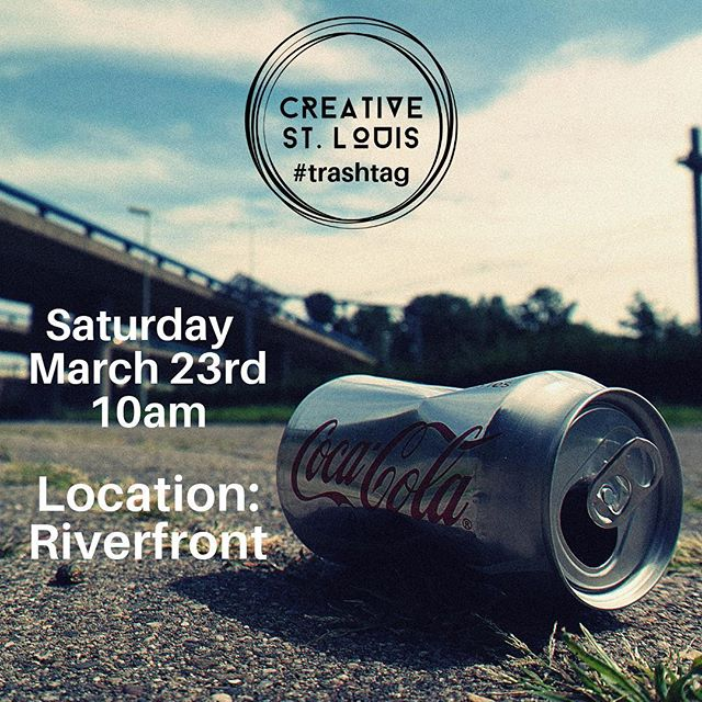 Hey Creative Fam! This Saturday will be the first Creative St. Louis trash clean up!! The location is the River Front at 10am. We will meet by the Graffiti Wall! The river is high right now and I will be going down there tomorrow to see if it's even accessible. If it isn't, I have another location ready. Please feel free to bring your own supplies such as a trash picker upper or a broom (lots of broken glass). We will provide gloves and trash bags! Hope to see you there!!! . . . #stl #stlartist #saintlouis #stlouis #stlouisgram #explorestlouis #onlyinstlouis #stlouisonly #missouri #midwest #midwestlife #midwestliving #fox2now #stlphotographer #stlmodel #stlstylist #stlouisartist #stlbloggers #ksdknews #stlouisuniversity #stlfaces #stlouismissouri #stlstylist #forestparkforever #creatives #stlevents #reprsntstl #creativestlouis