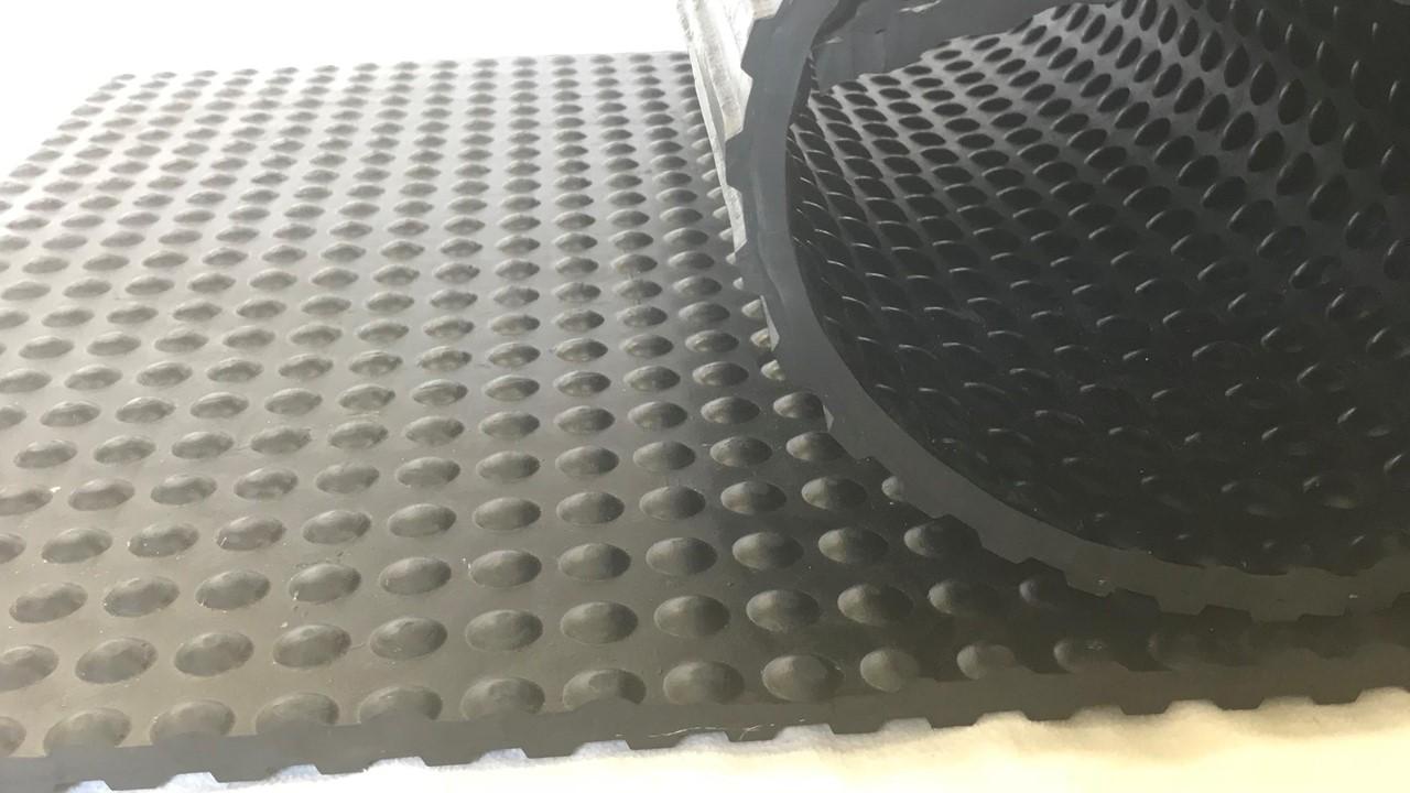 Reinforced Grooved Bottom Anti-Slip Rolls