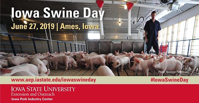 We will be at Iowa Swine Day tomorrow in Ames! We're excited to network and learn from experts in the industry.