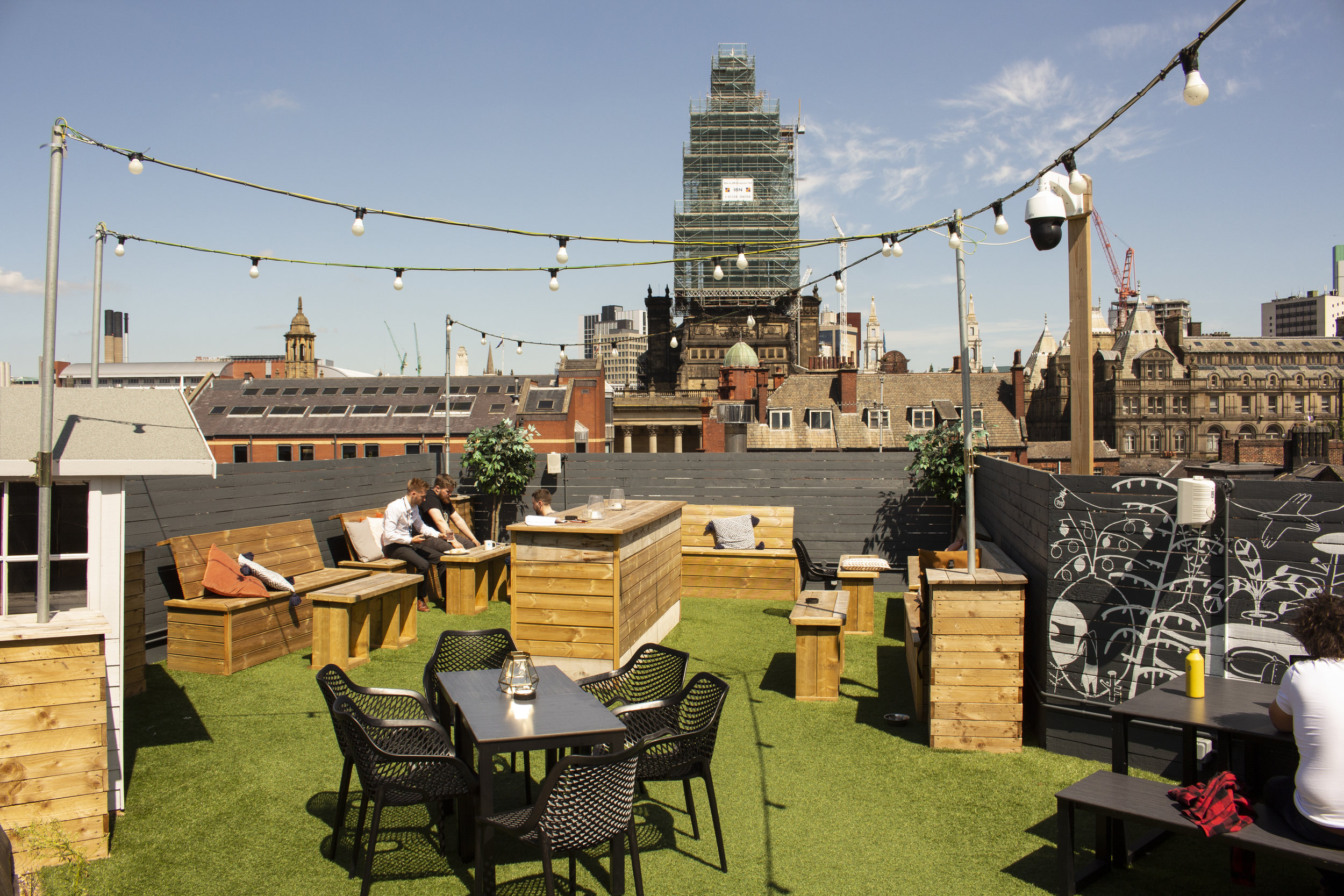 The Rooftop At Eps East Parade Social Coffee Bar
