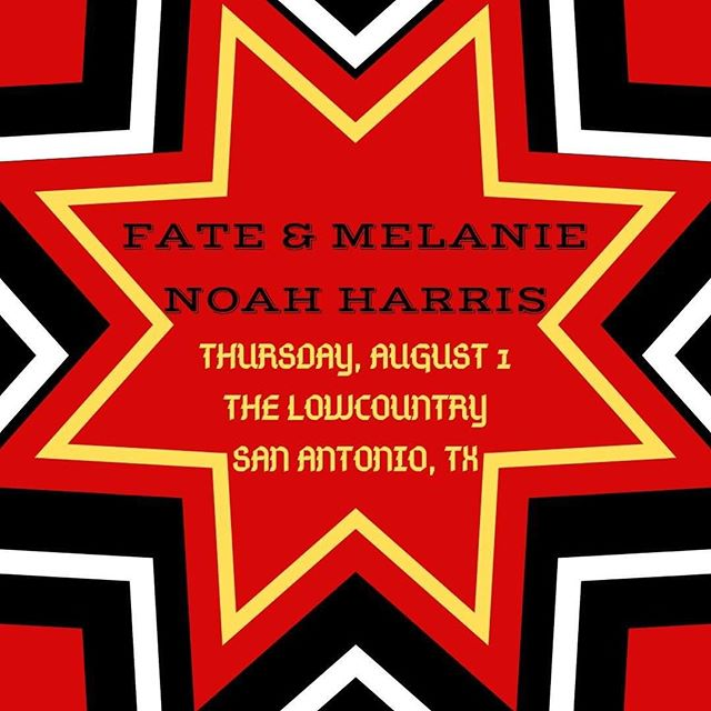 Tonight in San Antonio! We've hiked mountains and traversed deserts to sing to you, Texas. See you there!