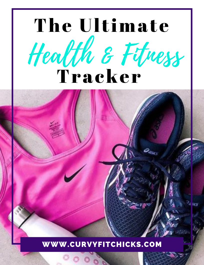 The Ultimate Health and Fitness Tracker - Designed for the curvy woman ready to take charge of her curvy fitness journey! This is perfect for the curvy woman who is:1) Starting her journey2) Re-starting her journey3) Ready to be consistent and disciplined4) Ready to create and sustain healthy habits