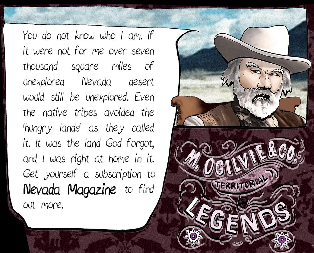 Michael Ogilvie, Territorial Legends.