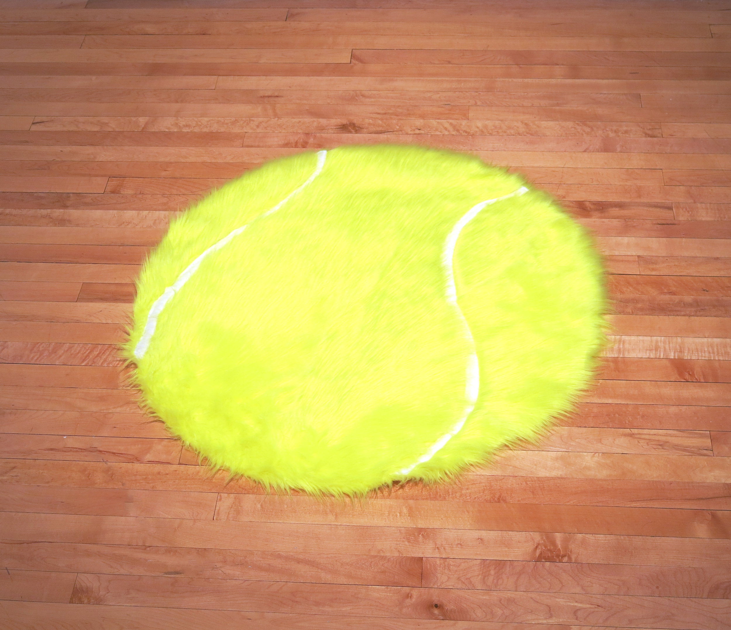 Ash Ferlito, Love Means Nothing to a Tennis Player, Faux fur, 2014. (Image courtesy the artist and the Marjorie Barrick Museum)