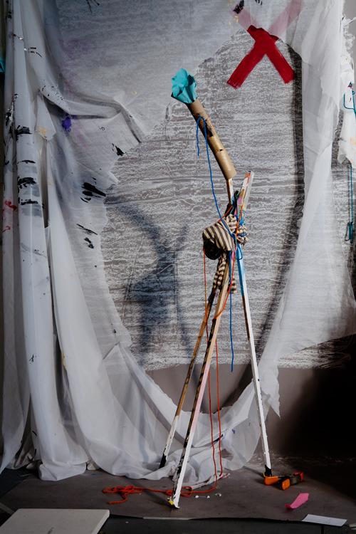 David Gilbert, Giraffe , Archival inkjet print, 2015. All works courtesy the artist, Klaus von Nichtssagend Gallery, NYC and Anthony Meier Arts, San Francisco, CA. (Image courtesy the artist)