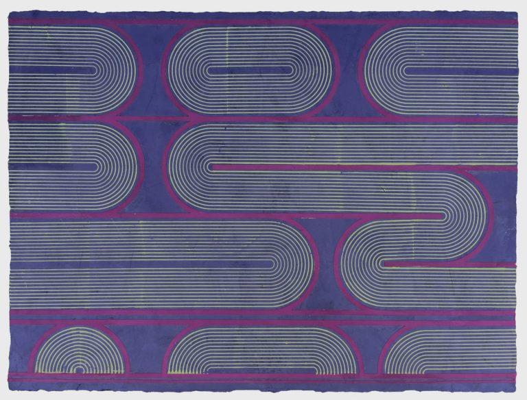 Elise Ferguson, Grapevine, 2016, pigmented plaster on MDF panel (image Two Coats of Paint)