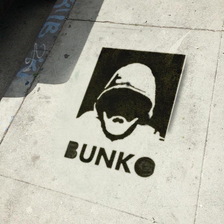 Ed Fuentes, photograph of found original Bunko stencil, 2016 (courtesy Ed Fuentes)