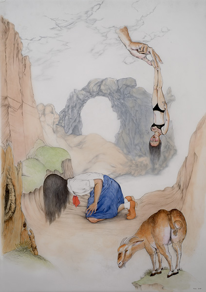 Fay Ku, from her solo exhibition Raising Children for Strangers at the Snite Art Museum.