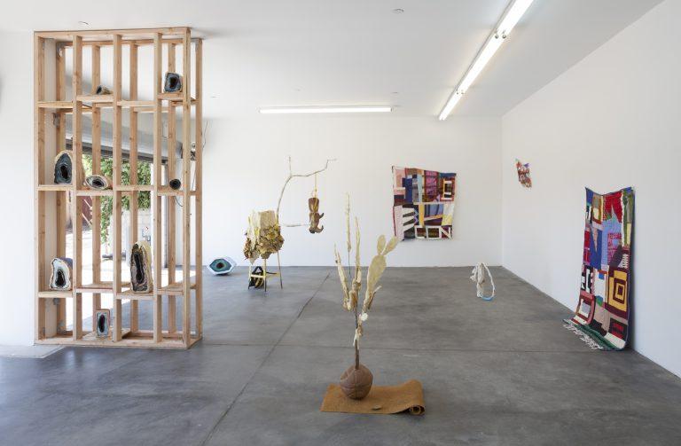Kyla Hansen installation view at Five Car Garage (Image Five Car Garage)