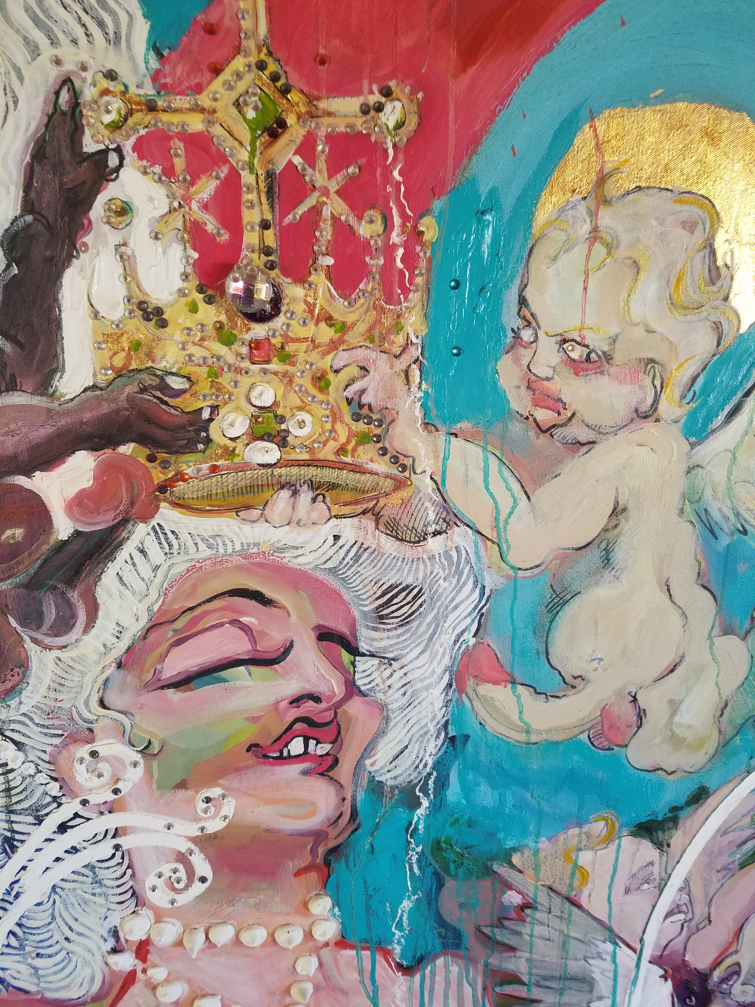 Aaron Sheppard, in Tales of the Flesh 2: Born Adversaries, Western Projects in Los Angeles (Image courtesy the artist)